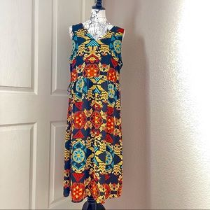 H&M Midi Dress Size 14